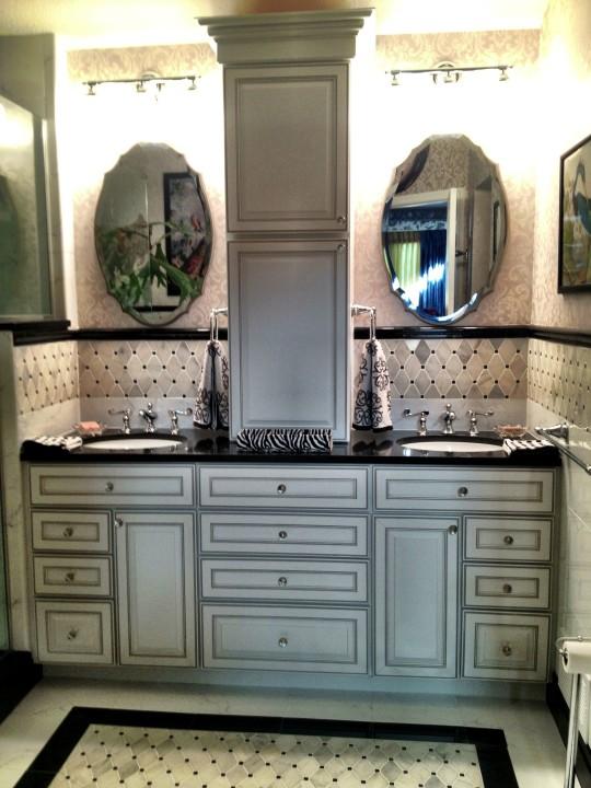 Glam Master Bath