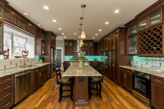 warm-contemporary-kitchen-dining
