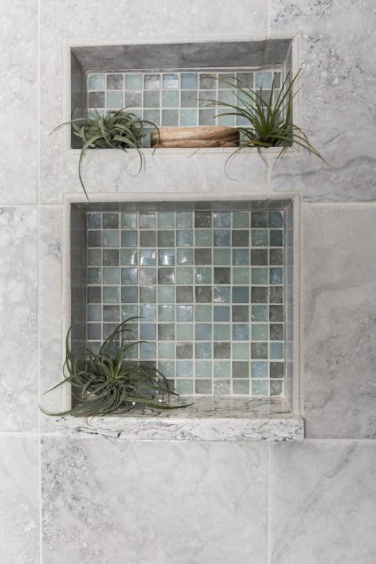 Transisitional Master Bathroom