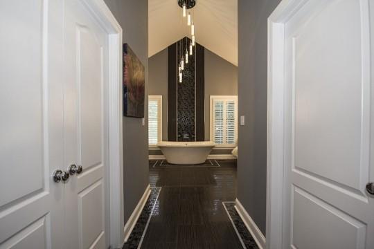 Luxury Modern Master Bathrooms b. chic interiors » luxury modern master bathroom