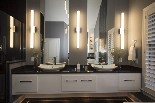 B CHIC INTERIORS Luxury Modern Master Bathroom