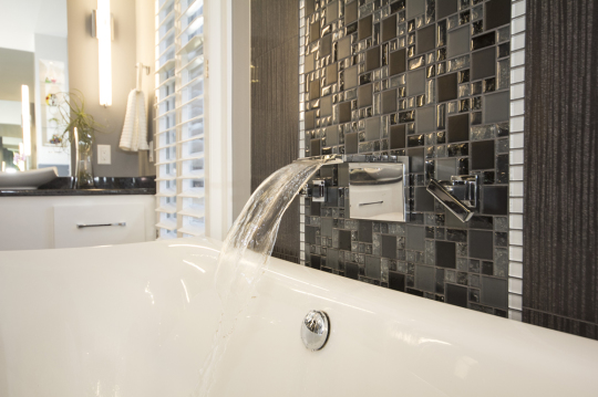 luxury modern master bathroom