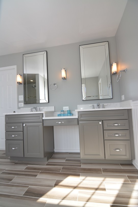 Modern Cottage Master Bathroom