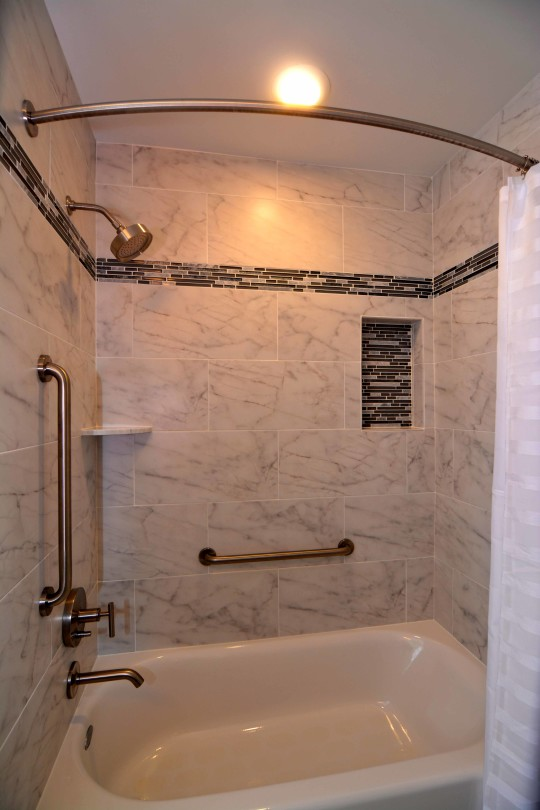 Contemporary Marble Bath