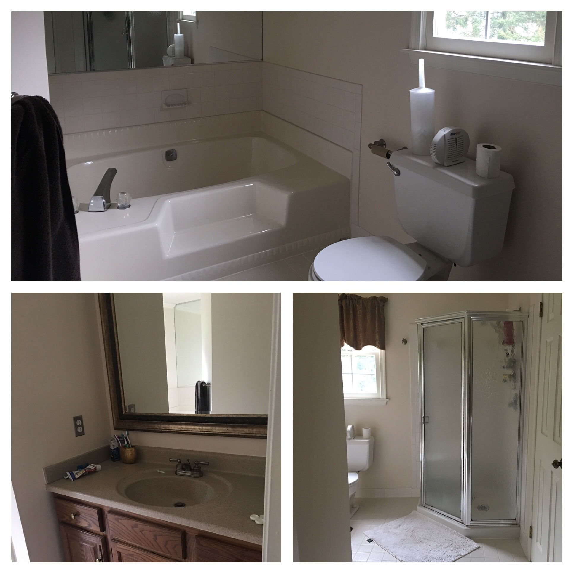 B. CHIC INTERIORS » SEE HOW THIS DATED BATHROOM TRANSFORMED…