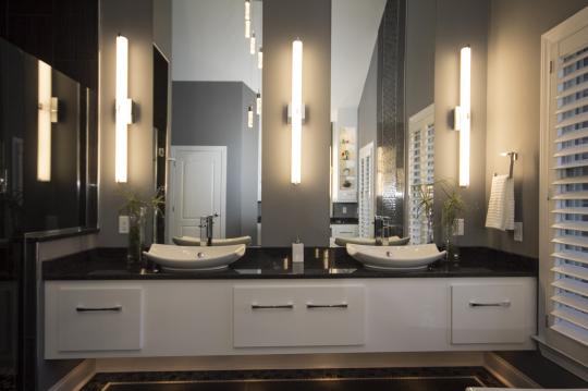 B Chic Interiors 187 Luxury Modern Master Bathroom In Hunt Valley